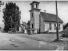 """photo of church with """"# 2-A Church on Middle Creek Road"""