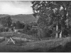 """photo of ranch with """"8-B"""" written on back. Two prints."""