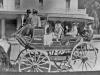 """print of Lakeport stage with """"Lakeport Stage about 1906-07"""""""