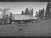 panorama print of Upper Buck Ridge sawmill.