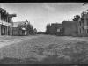 """ panorama print of Upper lake Main Street looking south."