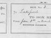 ----- Paper reciept for Box #3 from Jan 1 to March 31, 1878 for $0.75