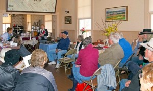 Riby presents to full house
