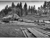 "7 photo of saw mill with ""12-a Upper Buck Ridge Saw Mill about"